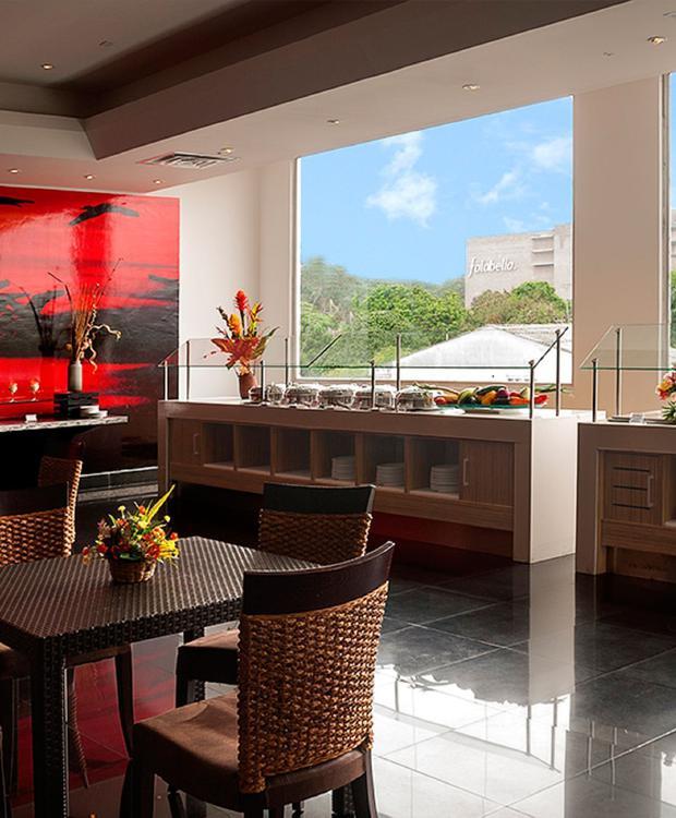 Vista restaurante Villavicencio GHL Hotel Grand Villavicencio Villavicencio