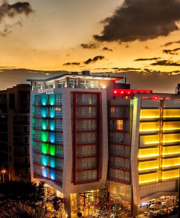 Facade Four Points By Sheraton Bogotá Hotel Bogotá
