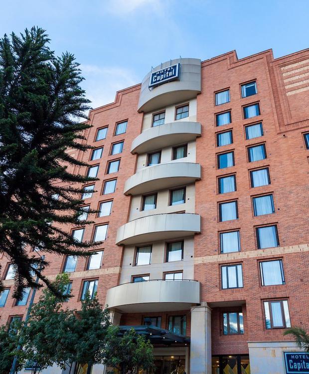 Facade GHL Hotel Capital GHL Capital Hotel Bogotá