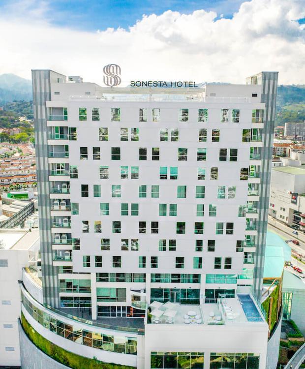 Facade Sonesta Hotel Bucaramanga  Bucaramanga