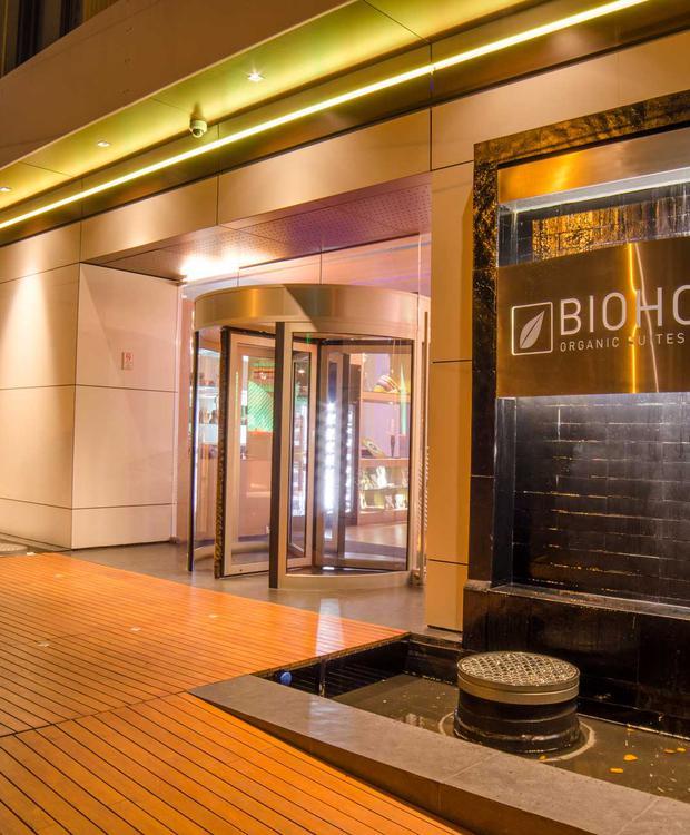 Entrance Biohotel Organic Suites Bogotá
