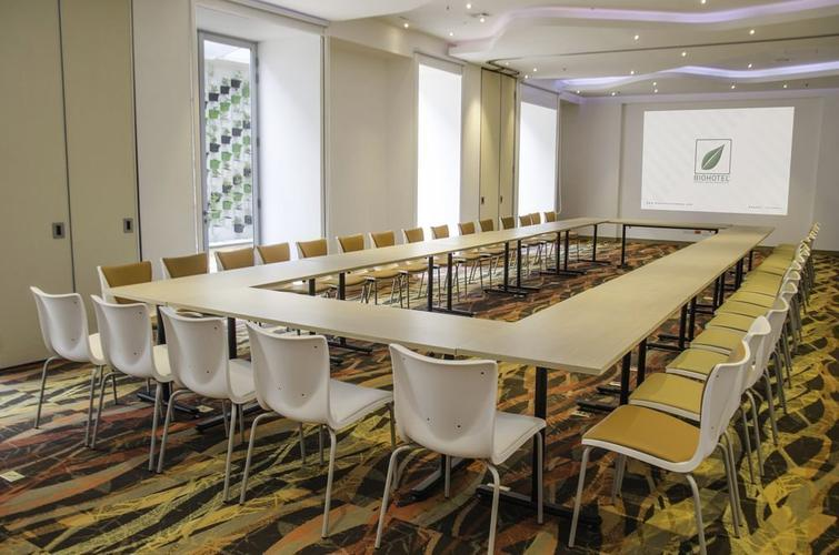 Meeting room biohotel organic suites bogota