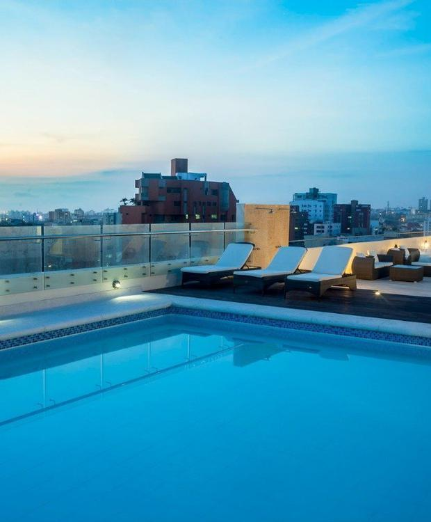 Swimming pool Four Points By Sheraton Barranquilla Hotel Barranquilla