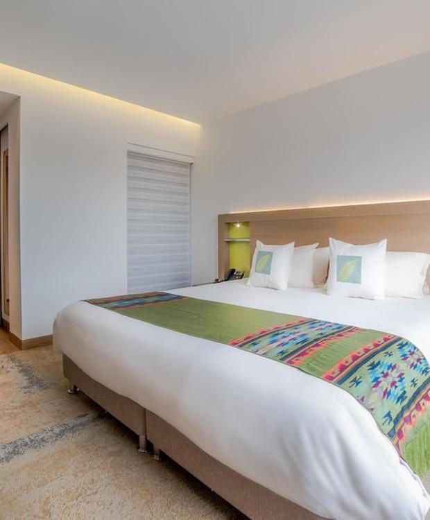 Deluxe standard room Biohotel Organic Suites Bogotá