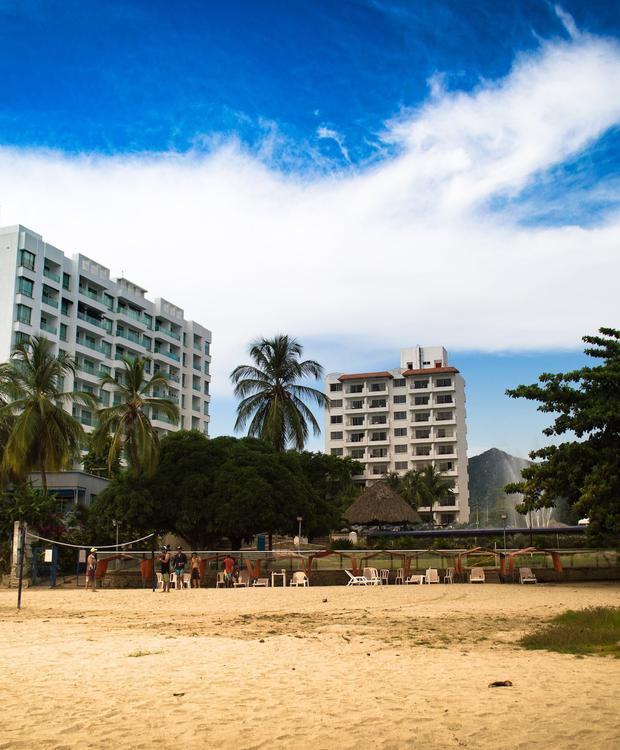 Beach volleyball Relax Costa Azul Hotel GHL Santa Marta