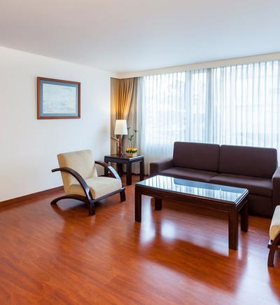 Junior suite twin ghl style hotel belvedere bogota