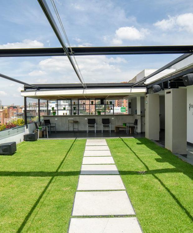 Terrace Biohotel Organic Suites Bogotá