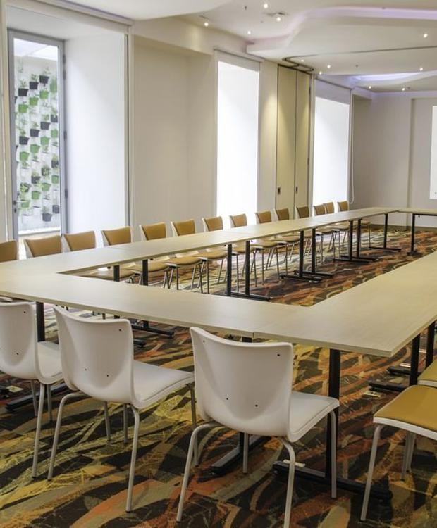 Meeting room Biohotel Organic Suites Bogotá