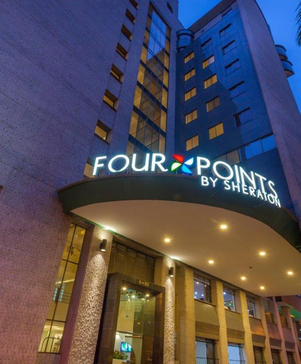 Fachada Four Points By Sheraton Medellín Hotel Medellín