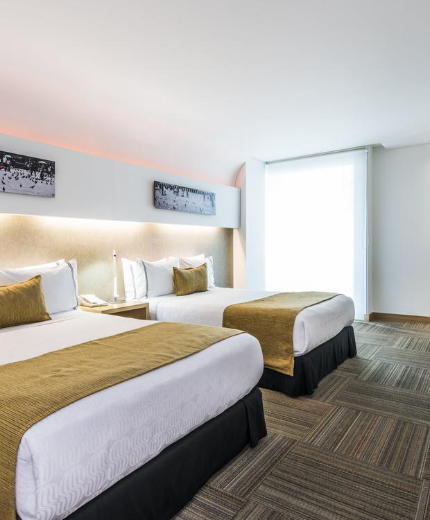Habitación Twin Sonesta Hotel Bogotá Bogotá