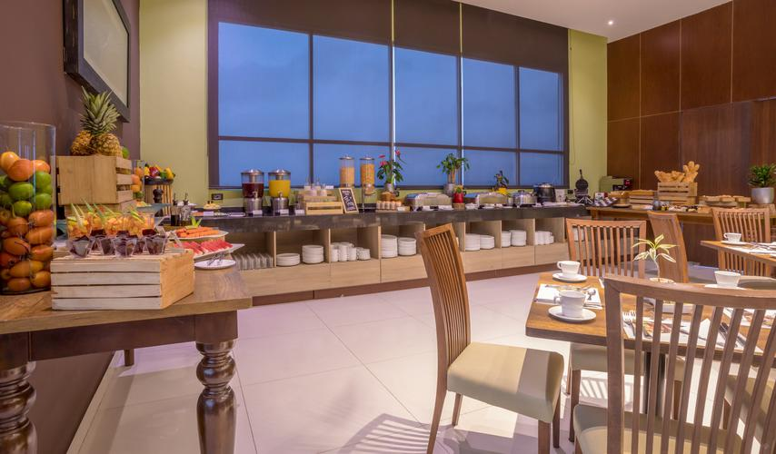 Sky forest restaurant ghl collection barranquilla hotel