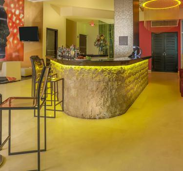 Asia lobby bar ghl collection barranquilla hotel