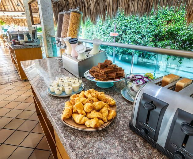 Buffet breakfast  Santa Marta