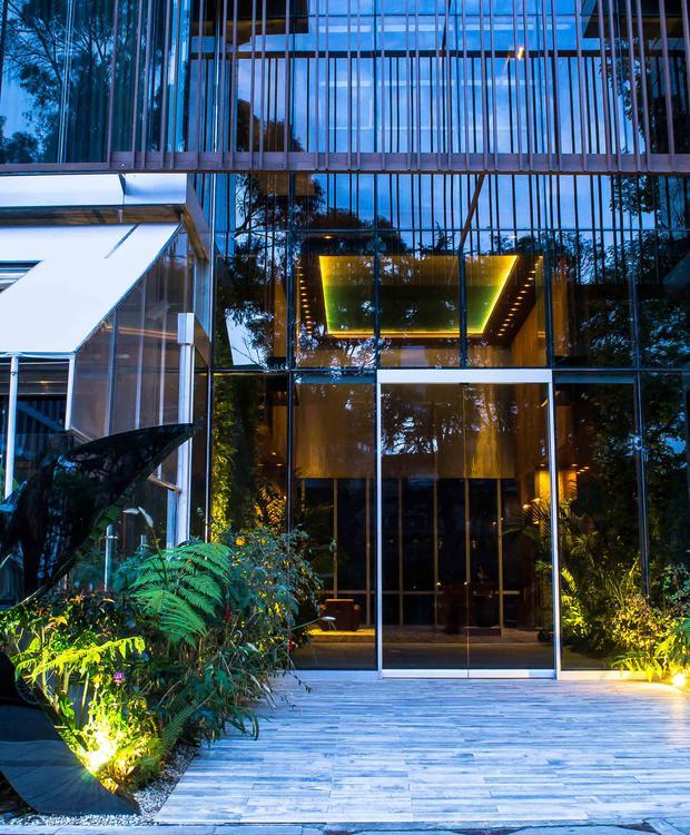 Entrada Bioxury Hotel Bogota
