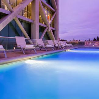 OUTDOOR POOL Hotel Four Points By Sheraton Los Ángeles Los Ángeles