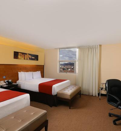 Executive twin room, 2 double beds sonesta hotel cusco