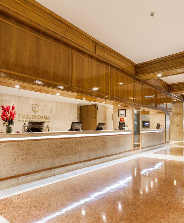 Lobby Tequendama Hotel Bogota