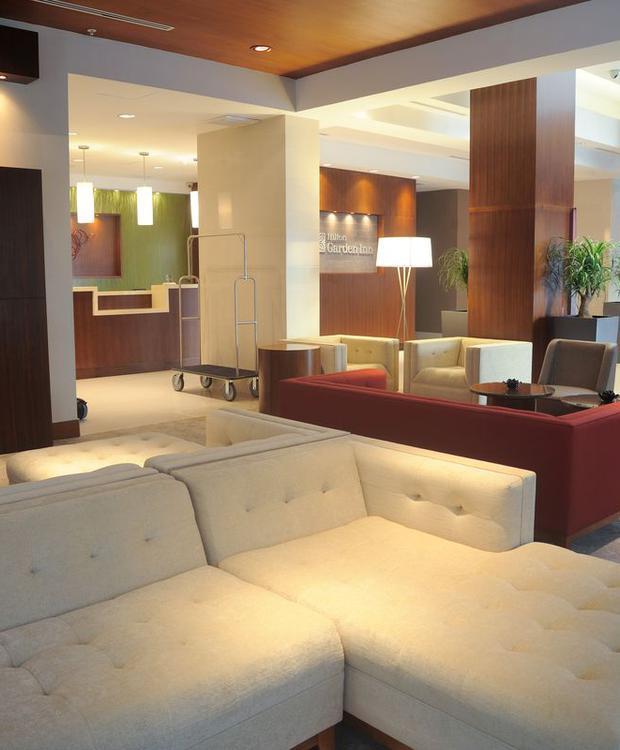 Lobby Hilton Garden Inn Panamá Hotel Ciudad de Panamá