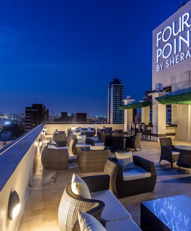 Terrace Four Points By Sheraton Barranquilla Hotel Barranquilla