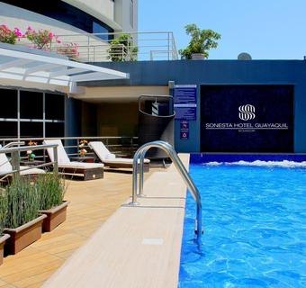 Swimming Pool Hotel Sonesta Guayaquil Guayaquil