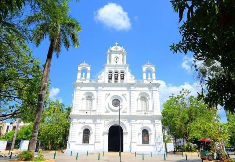 The san jeronimo cathedral of monteria ghl hotel montería