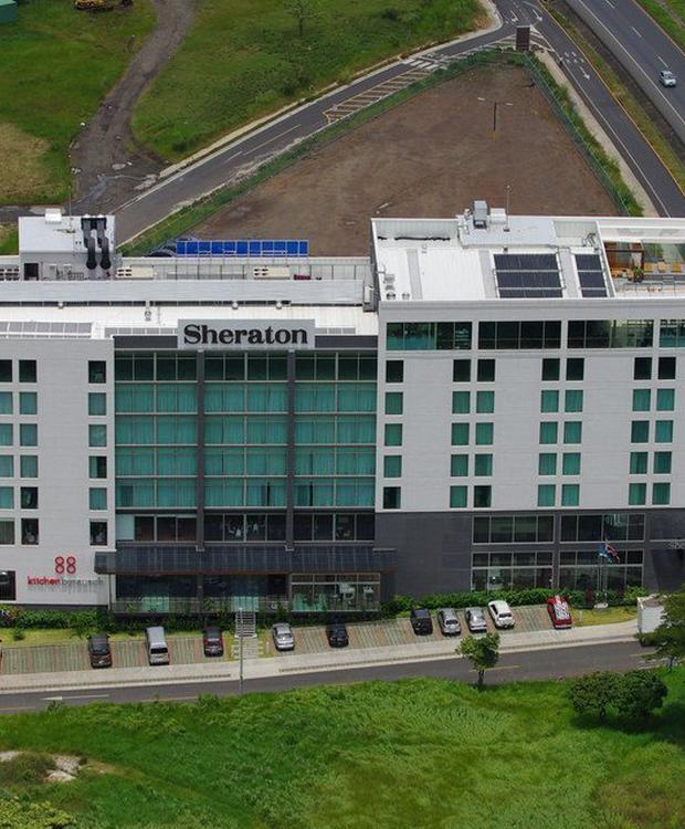 Air View Sheraton San José Hotel San José