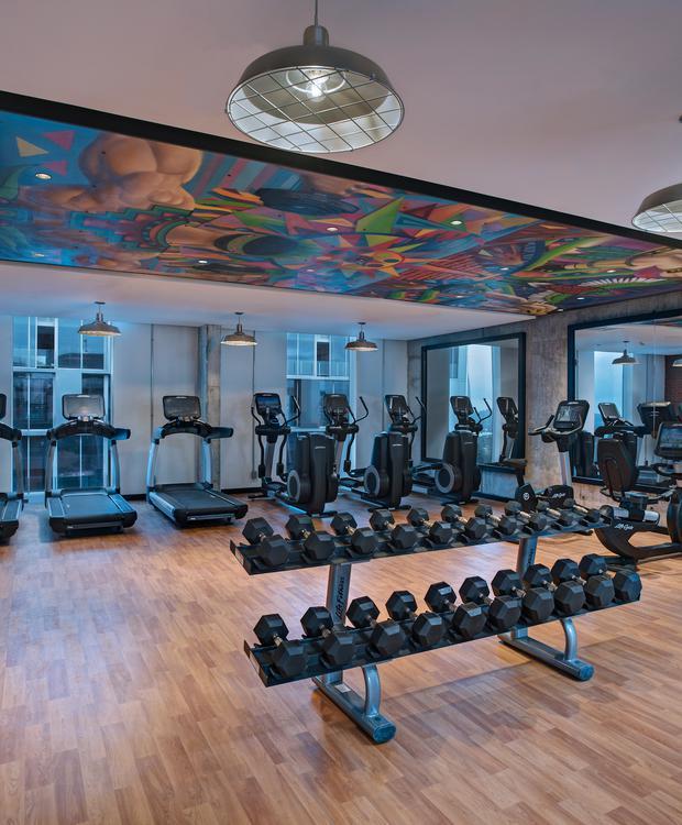 Fitness Center Hyatt Centric Guatemala City Hotel Guatemala City