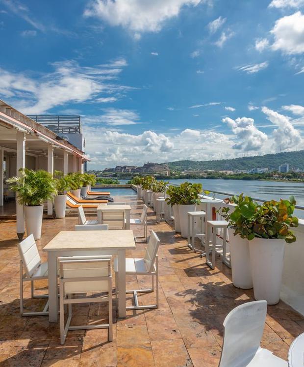 Swimming pool GHL Collection Armería Real Hotel Cartagena de Indias