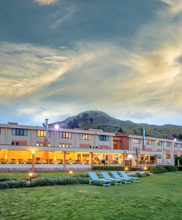 Fachada Sonesta Hotel Posadas del Inca Puno Puno