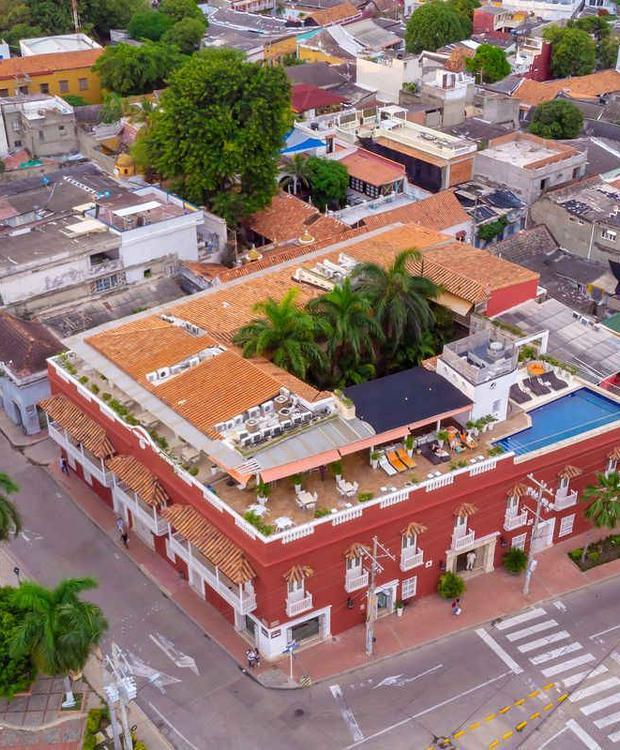 Panoramic view GHL Collection Armería Real Hotel Cartagena de Indias