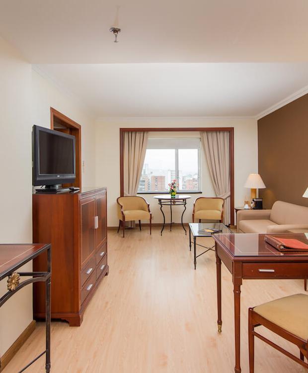 Living room Tequendama Hotel Bogota