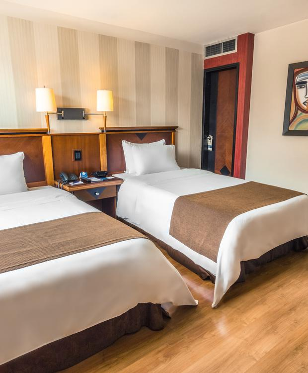 Standard Twin Room GHL Abadía Plaza Hotel Pereira