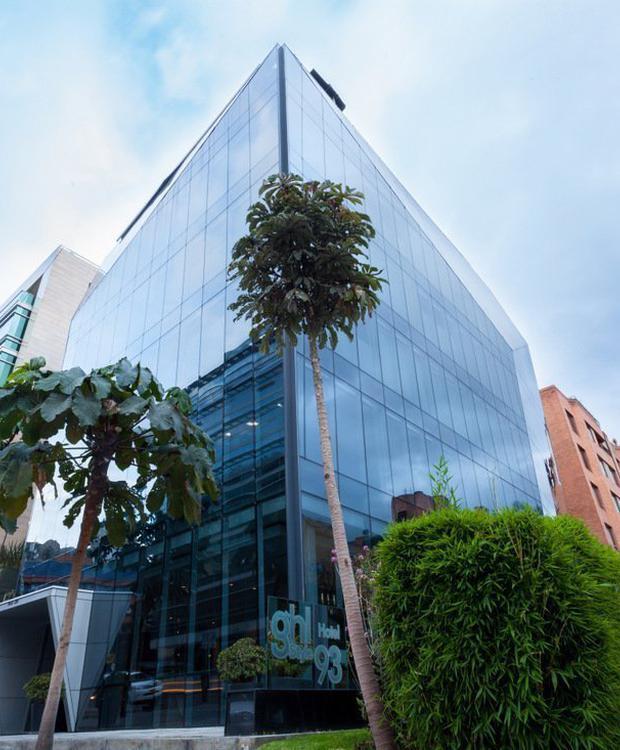 Facade GHL Collection 93 Hotel Bogotá