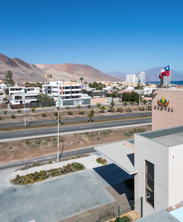Facade Geotel Geotel Antofagasta Antofagasta
