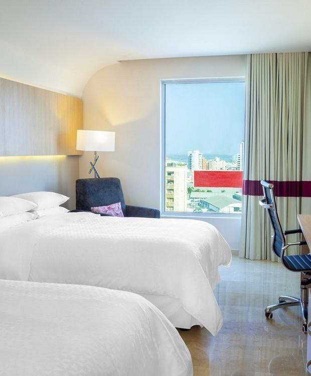 Twin room Hotel Four Points By Sheraton Barranquilla Barranquilla
