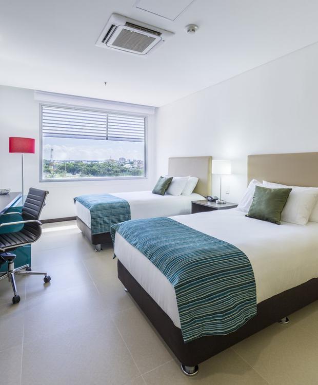 Standard Twin Room Hotel Park Inn By Radisson Barrancabermeja Barrancabermeja